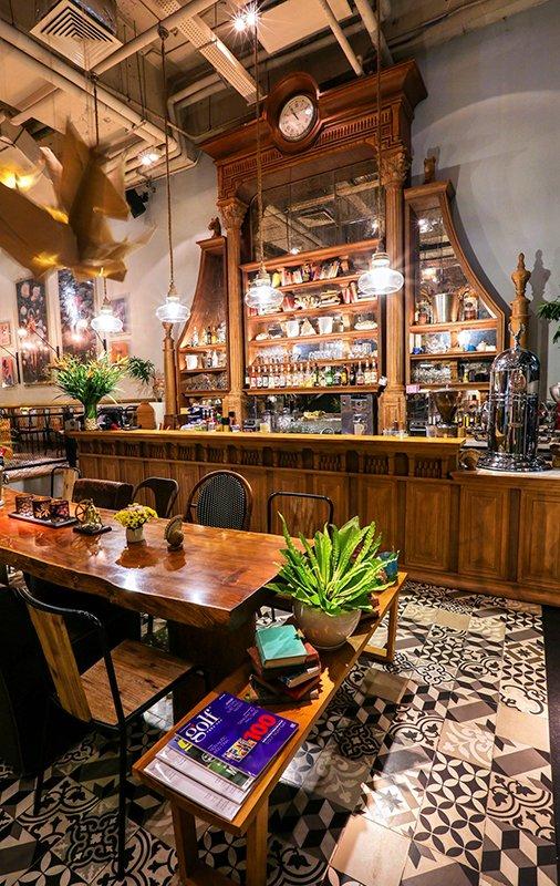 Thiết kế bếp công nghiệp nhà hàng - Cafe Runam Bistro Nha Trang