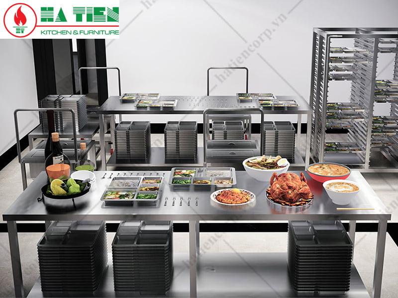 thiết kế bếp công nghiệp