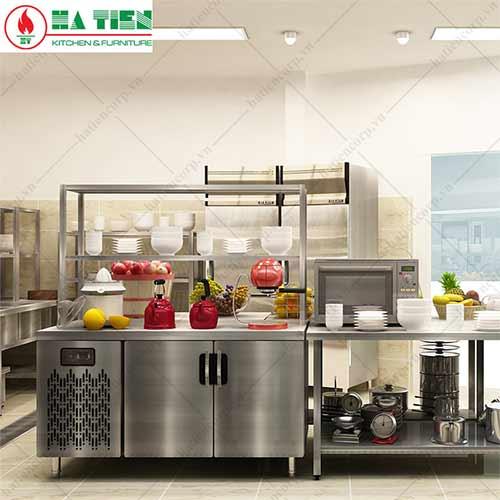 thiết bị bếp công nghiệp: bàn mát
