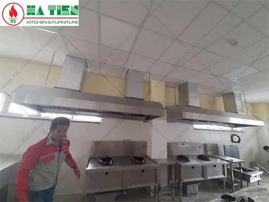 thiết bị bếp ăn công nghiệp nhà máy sợi Đà Lạt
