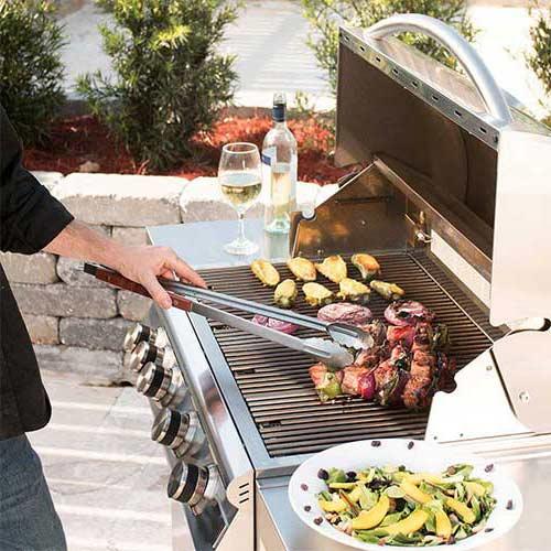 Bếp nướng cho món beefsteak