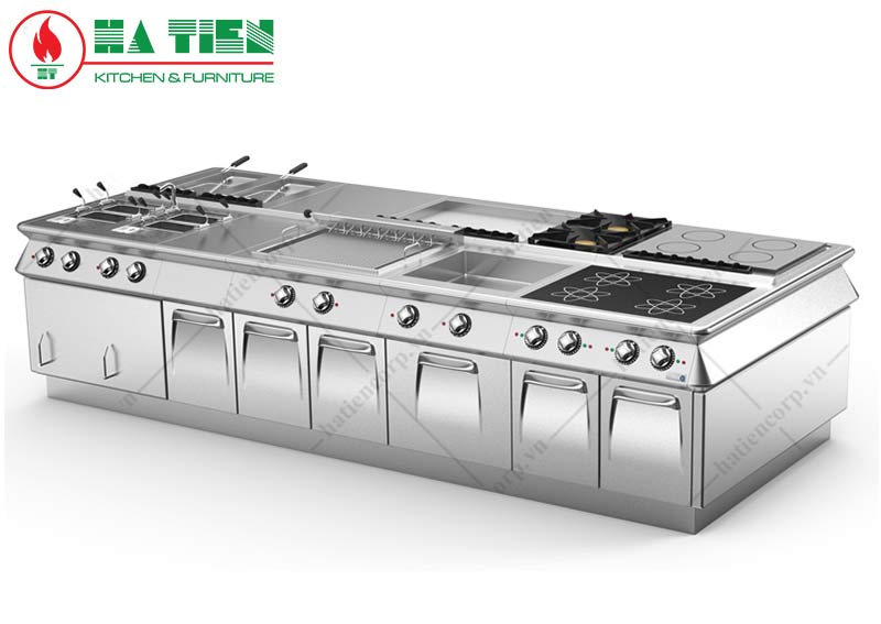 Mô hình bếp âu điện từ