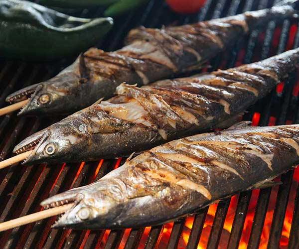 Nướng cá bằng lò nướng công nghiệp
