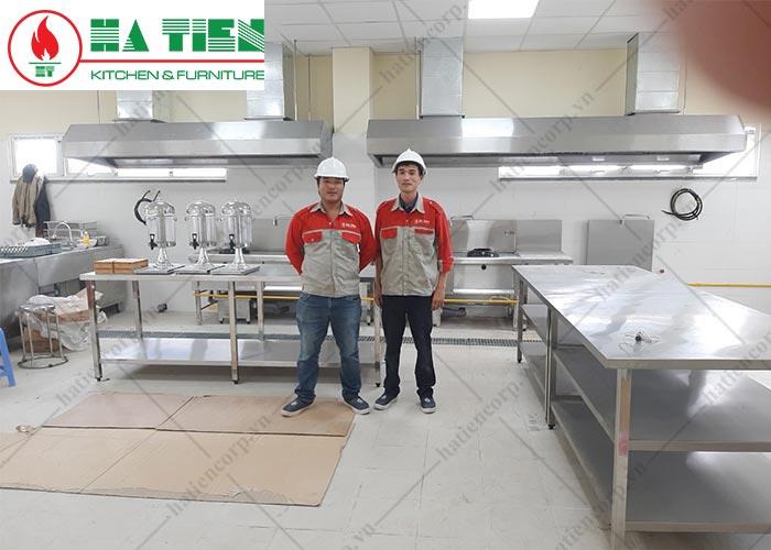 hệ thống hút khói bếp công ty Sợi Đà Lạt