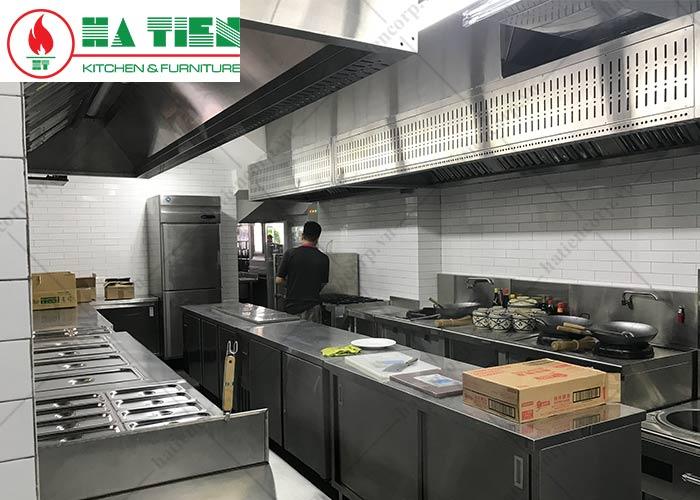 hệ thống hút mùi bếp nhà hàng cafe KK Bistro
