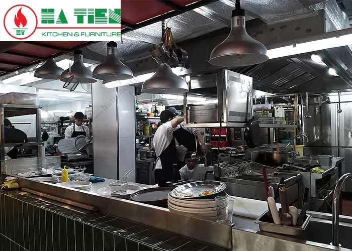 hút mùi bếp nhà hàng Haan, Q1