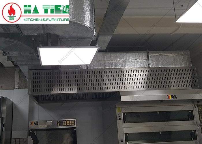 Hệ thông hút mùi bếp Nhà hàng The Running Bean