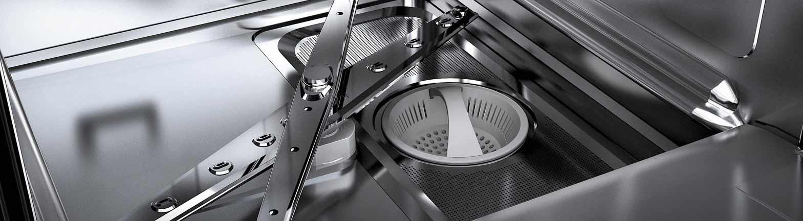 Nguyên lý hoạt động máy rửa chén công nghiệp