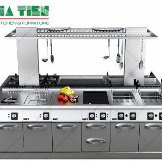 Mô hình bếp ăn công nghiệp đẹp, tối ưu diện tích
