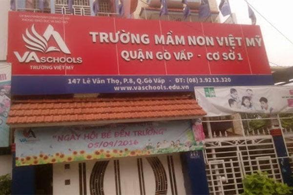 Hà Tiên thiết kế bếp căn tin trường mầm non Việt Mỹ quận Gò Vấp