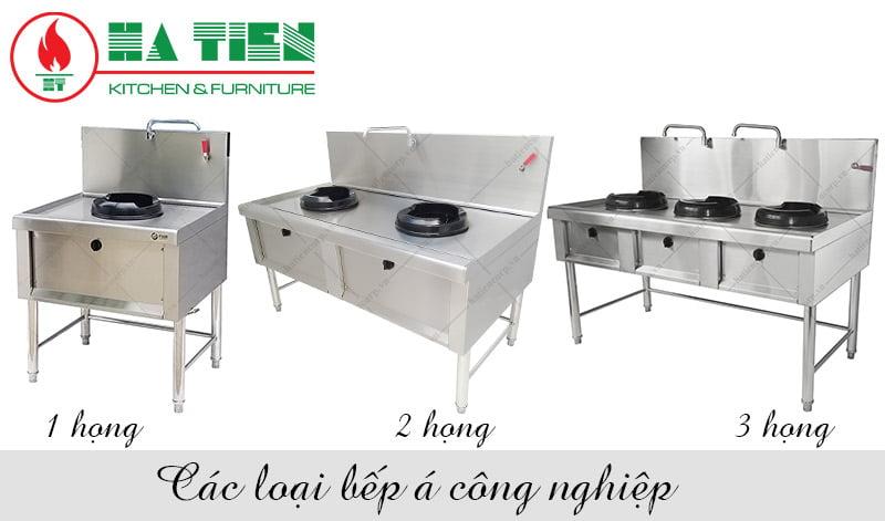 bếp gas nấu công nghiệp